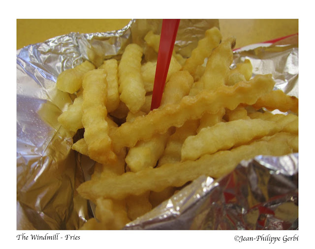 Image of Fries at The Windmill in Hoboken NJ, New Jersey