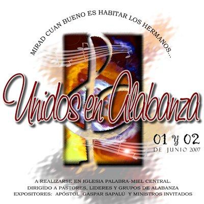 Palabra Miel Central Guatemala-Unidos En Alabanza-Vol 1-