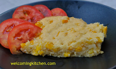 Vegan Gluten-free Corn Pudding
