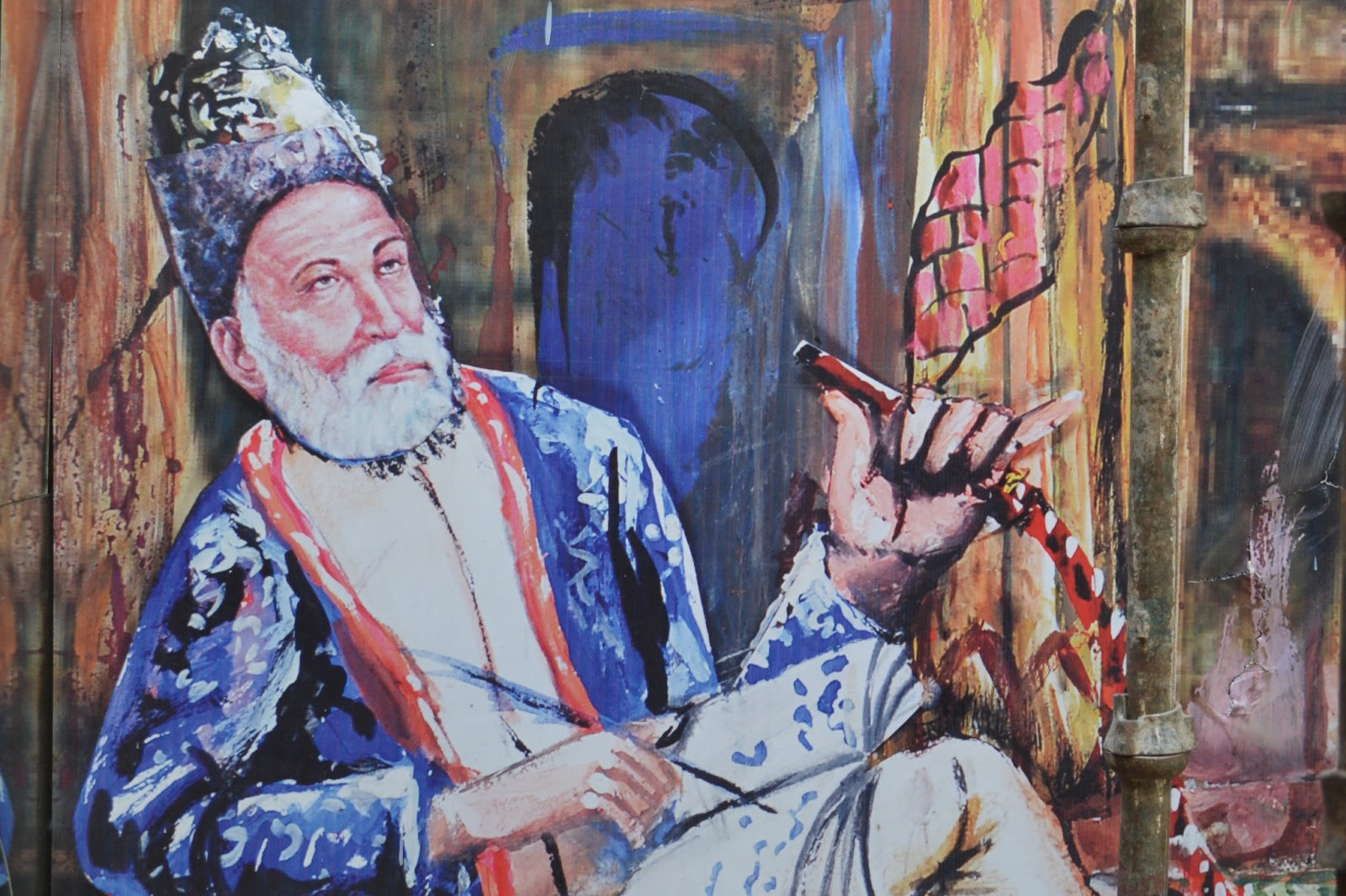 """ghalib and metaphor 10112014 """"ghalib, you write so well  while at the same time utilizing uncanny simile and metaphor to offer glimpses of his deeply  of the reluctant sufi."""