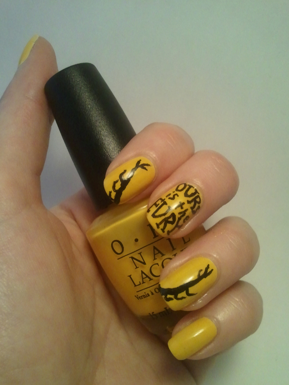 31 Day Nail Art Challenge Fill: House Baratheon Game of Thrones ...