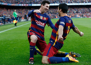 Barcelona 7-1 Valencia. Messy, Suarez, Copa Del Rey