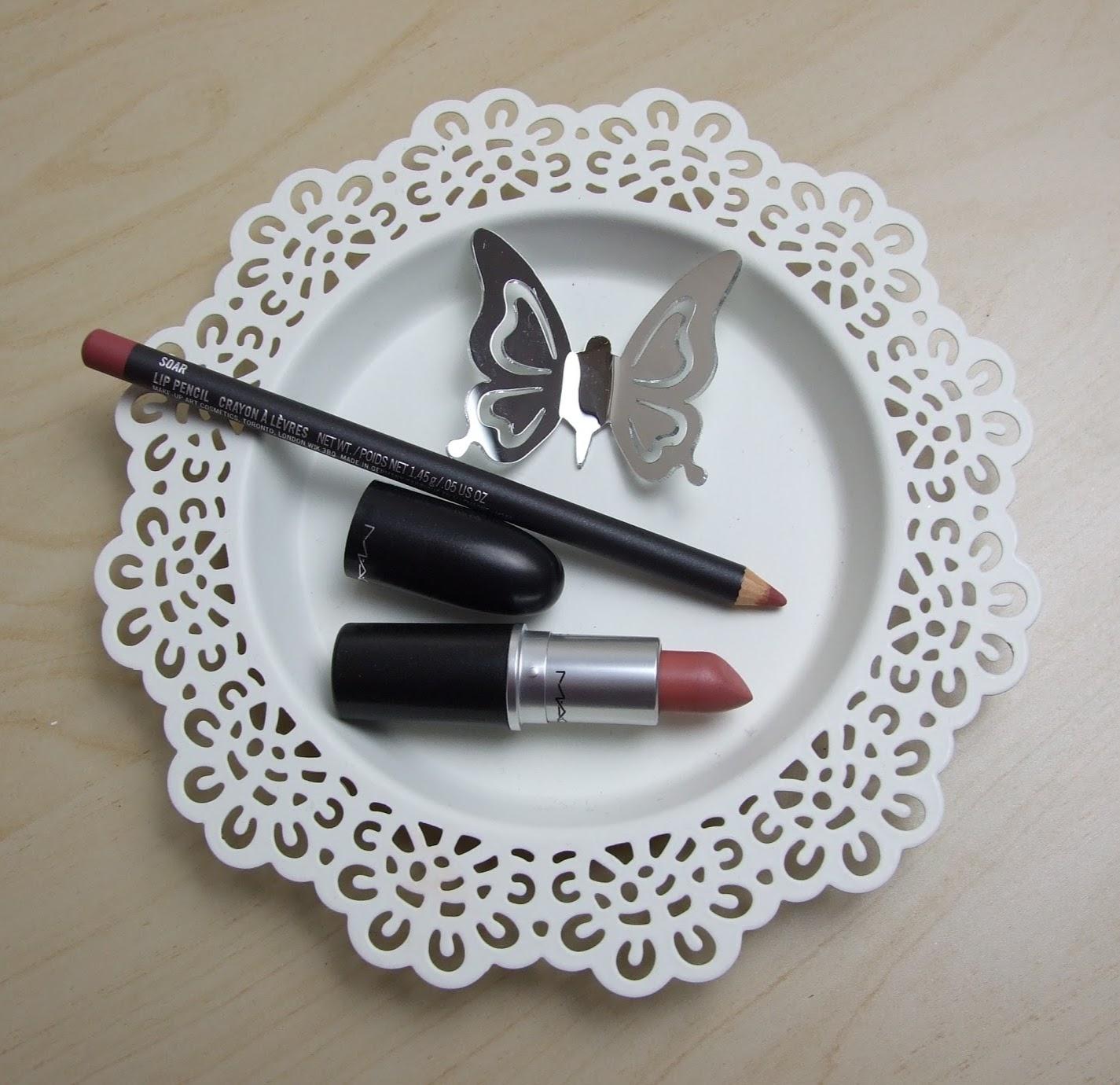 mac brave lipstick soar lip liner beauty blog review kylie jenner