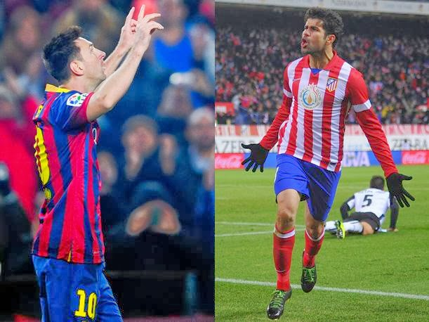 Atletico de Madrid vs Barcelona vivo