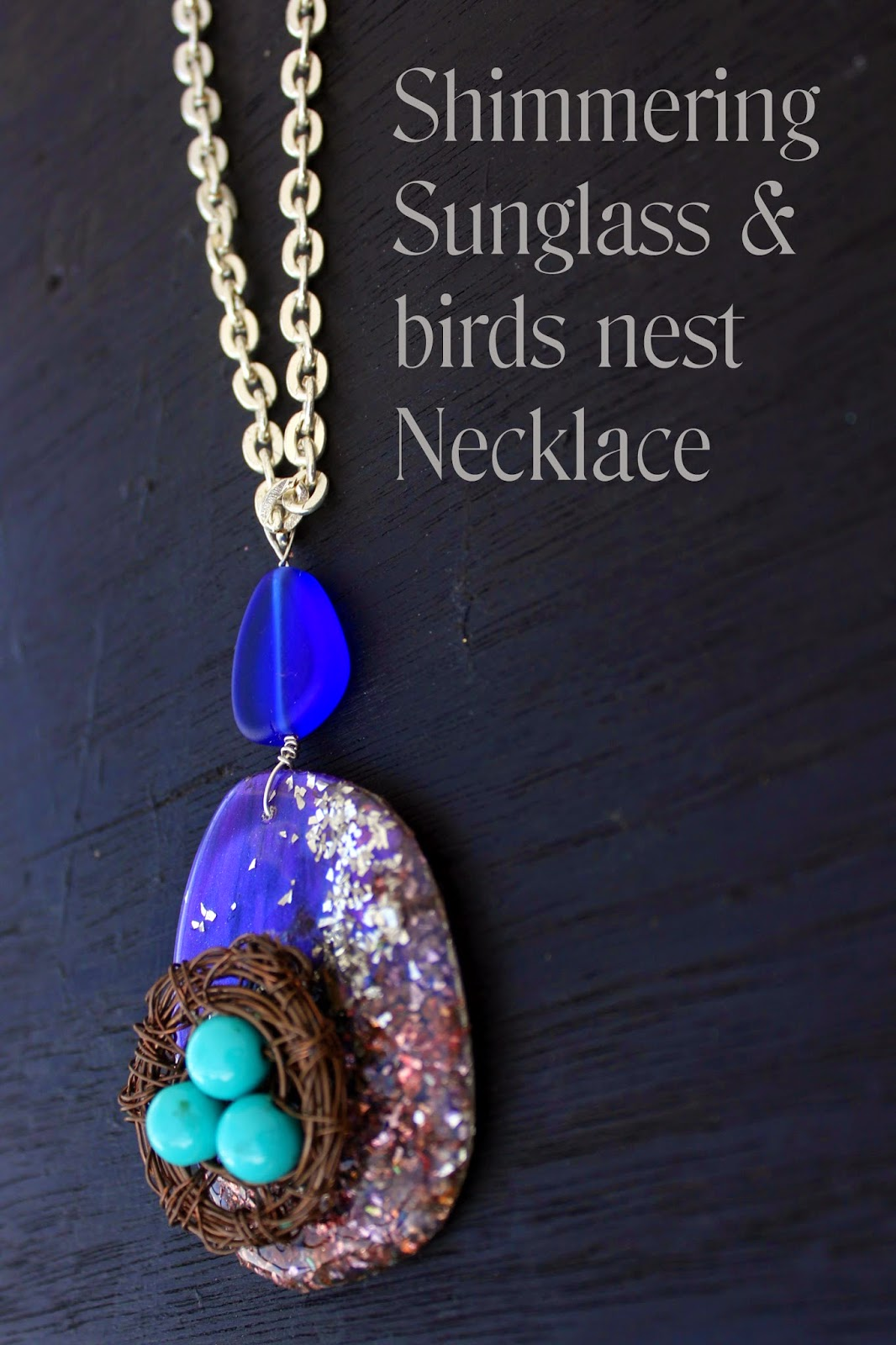 http://www.craftpaperscissors.com/how-to-make-a-bird-nest-necklace/