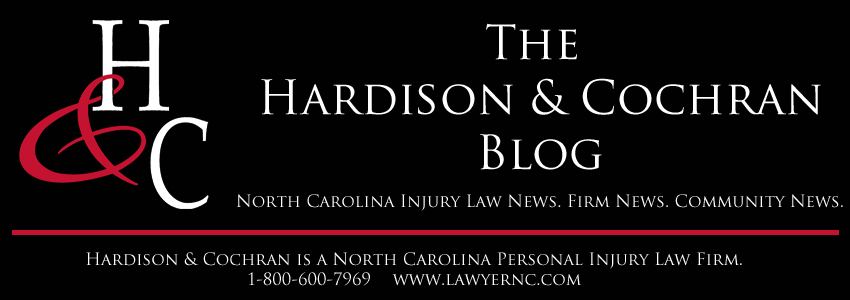 North Carolina Personal Injury Lawyer Blog by Hardison & Cochran