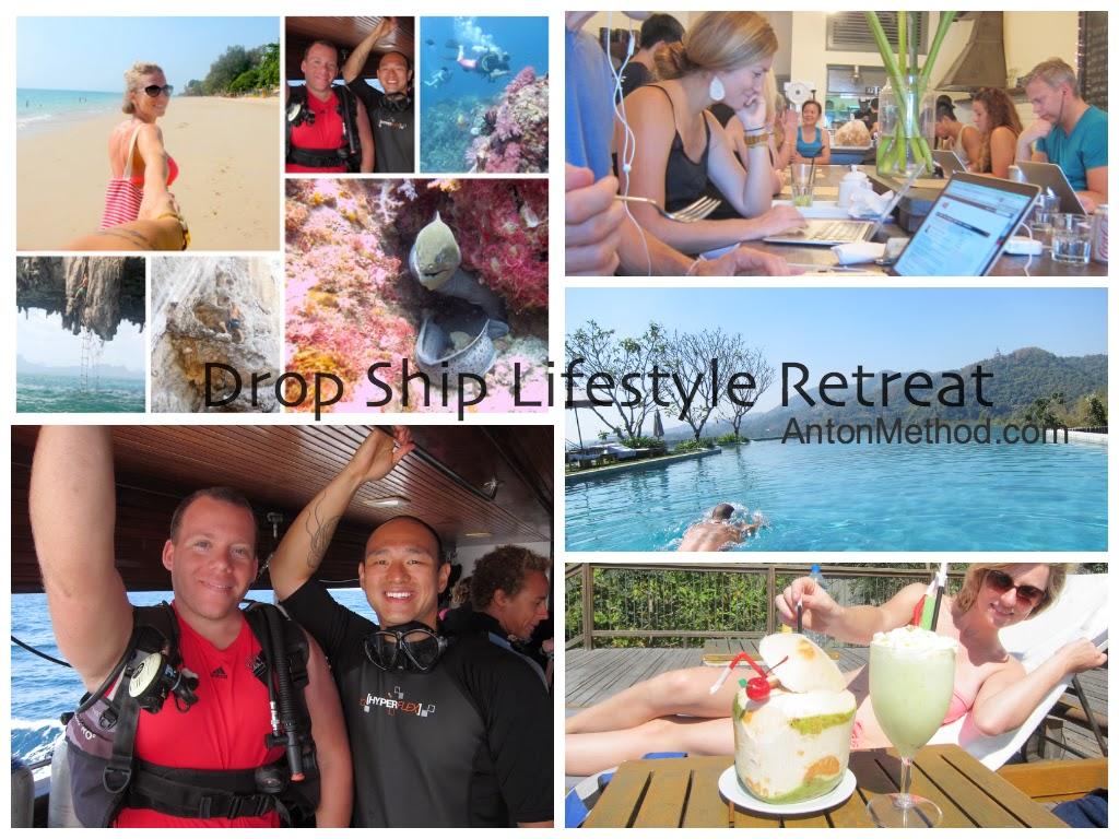 drop ship lifestyle retreat