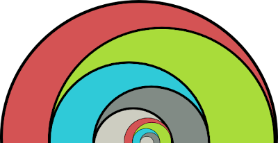 I've shrunken our original semicircles to avoid a hyperbolic 3364 x 1740 PNG.