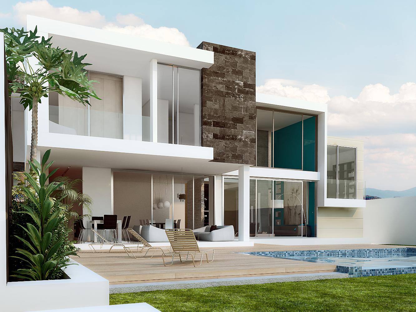 Pe aranda arquitectos dise o y construccion casa gloria for Diseno y construccion de casas
