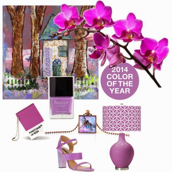 2014 color or the year Radiant orchid