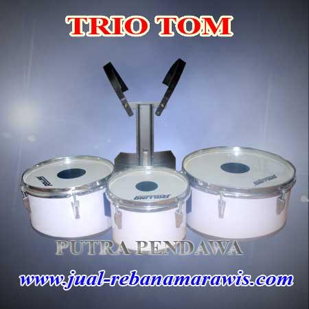 jual alat triotom, kuartom drum band (spesifikasinya)