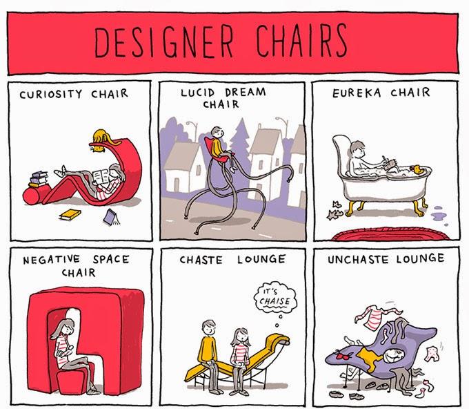 Dissenys estrafolaris de cadires