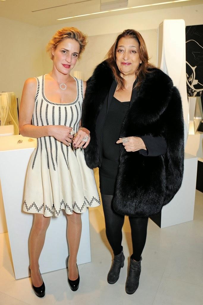 Zaha Hadid Style the style diaries of iva s.: zaha hadid for caspita