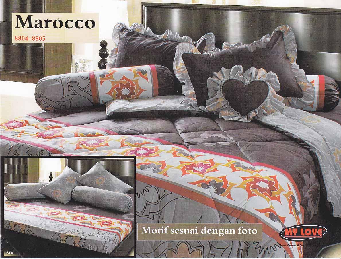 Bed cover my love anak - New Bed Cover Set Merk Mylove Terbaru Ukuran King 180x200 Bedcover Sprei Rumbai 2 Sb 2 Sg 345000
