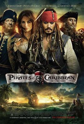 Piratas do Caribe: Navegando em Águas Misteriosas, de Rob Marshall