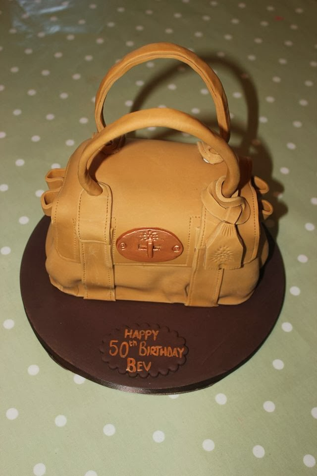 mulberry baywater purse cake