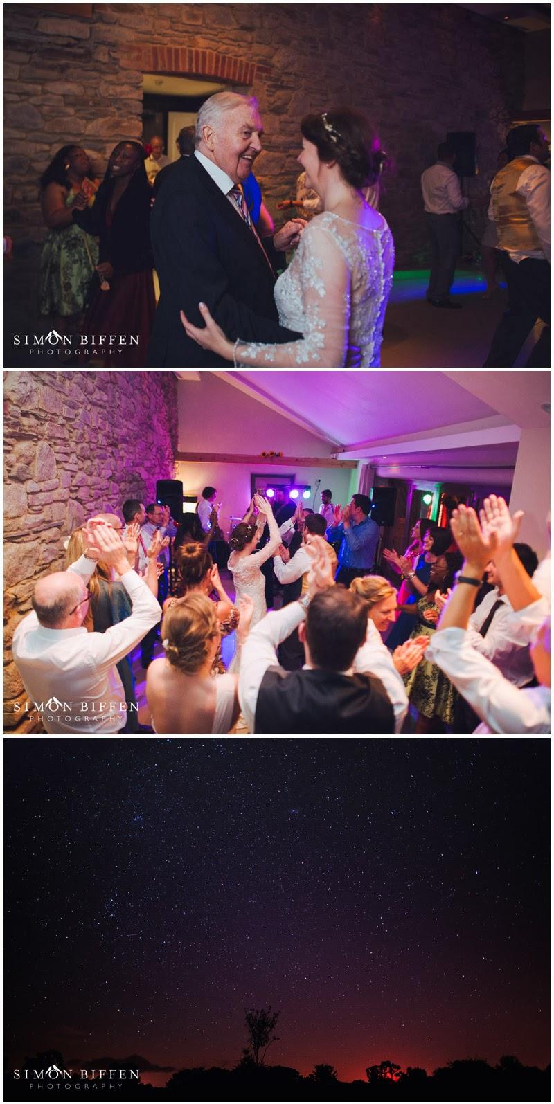 Wedding dancing at Trevenna Cornwall