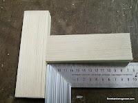 Cortes perfectos para uniones en madera a 90 grados con tubillones. Enredandonogaraxe.com