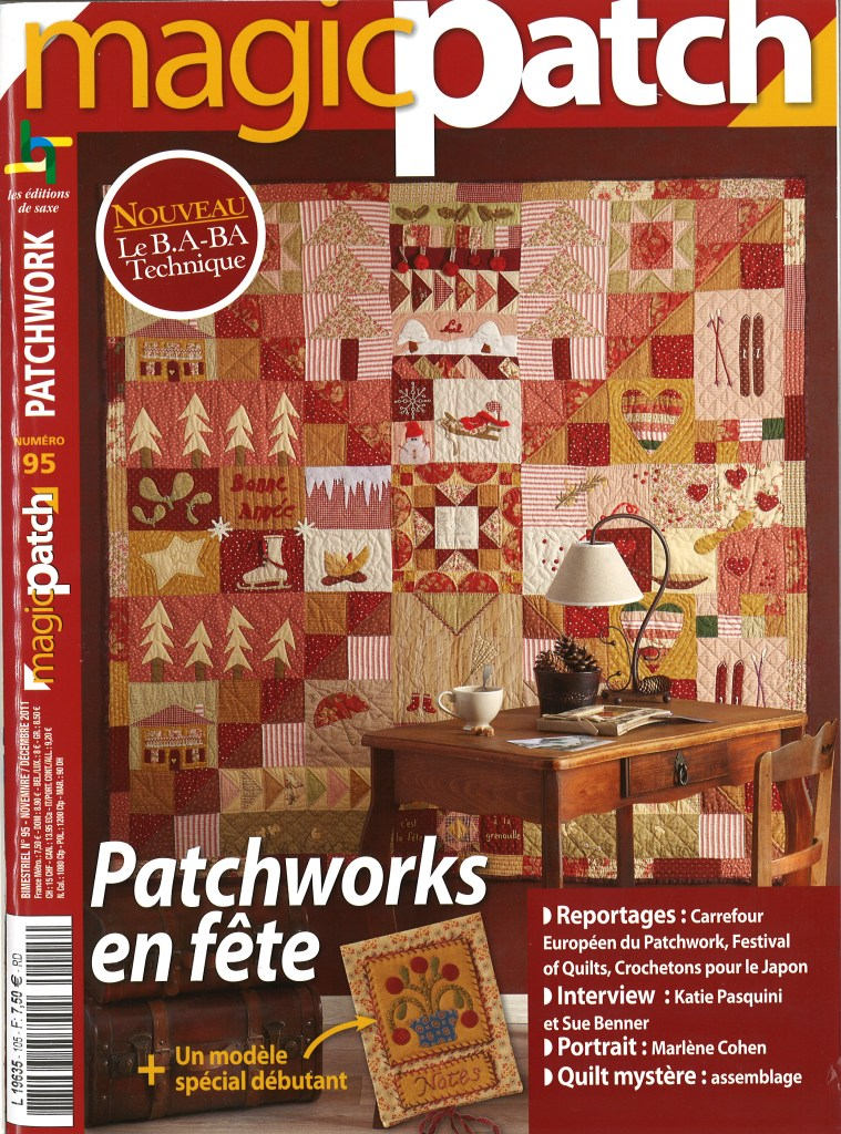 crib quilt french patchwork magazine