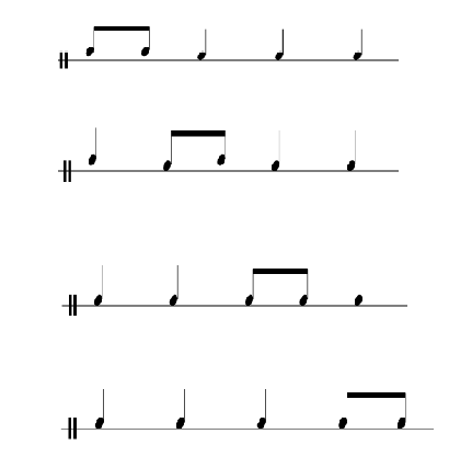 Quarter Notes And Eighth Notes ... something u...