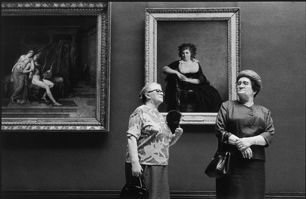 Alécio de Andrade, At the Louvre, 1969.