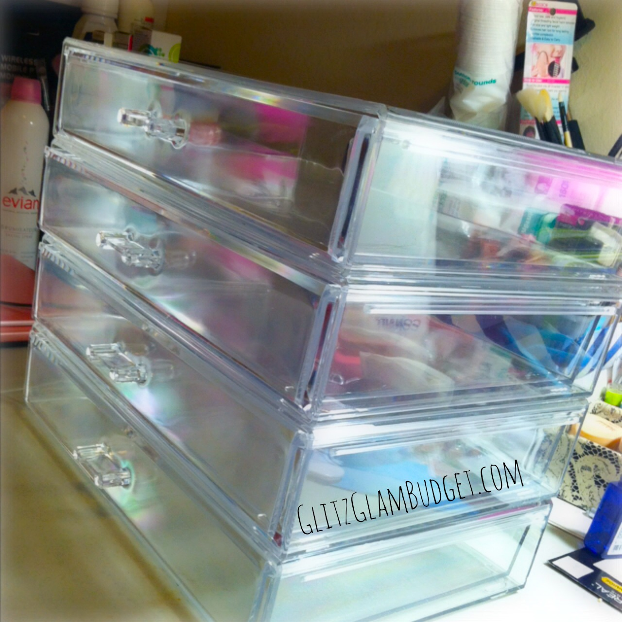 Hautelook Extra Large Cosmetic Stackable Drawers