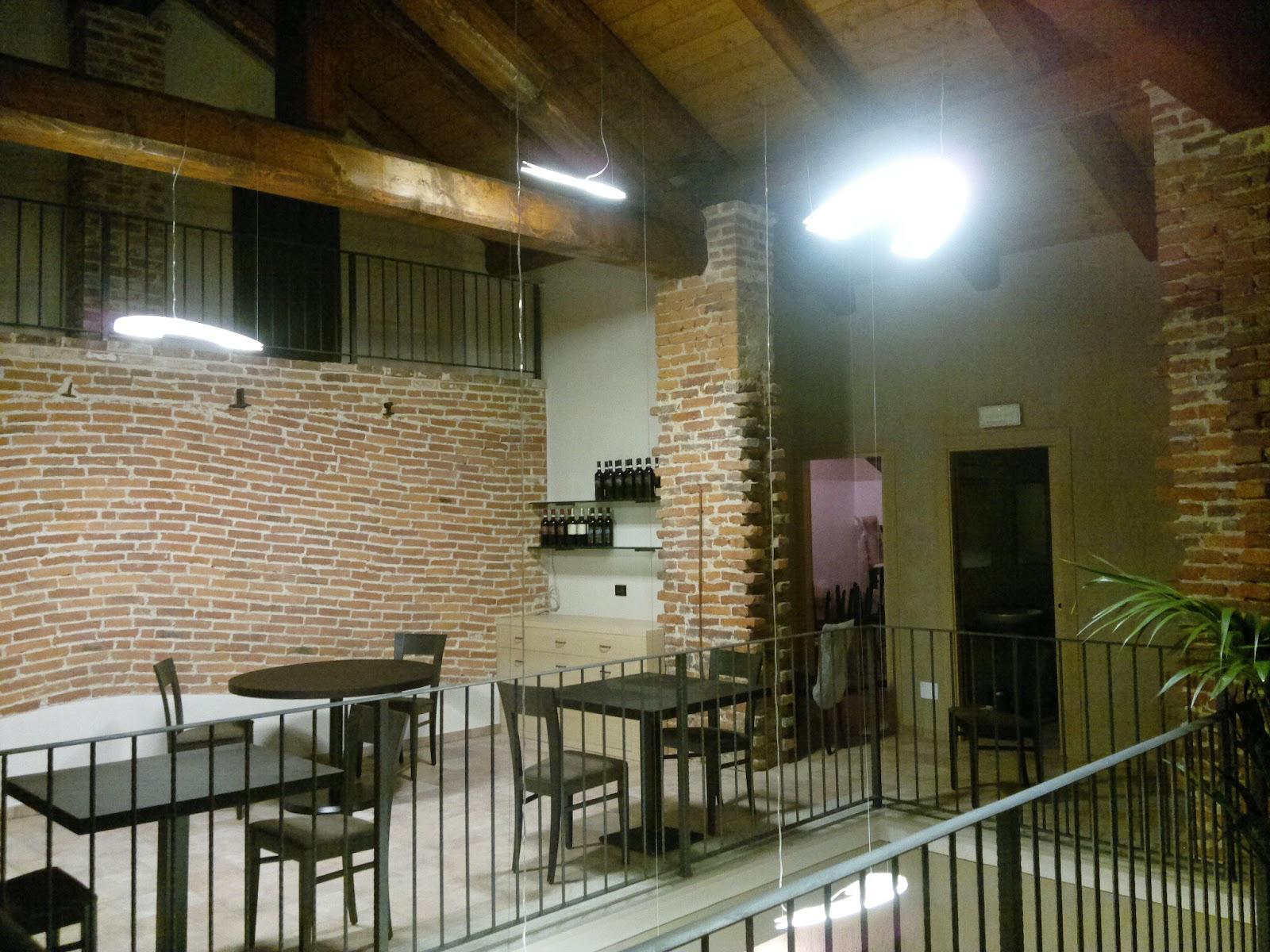 Illuminazione Led casa: Favria (TO) - Illuminazione LED del Ristorante da Enrietto