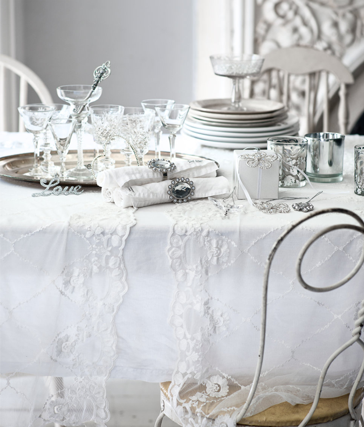 White and silver christmas ideas 79 ideas - Silver and white christmas ...