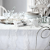 White and Silver Decoration & Beyaz ve Gümüş