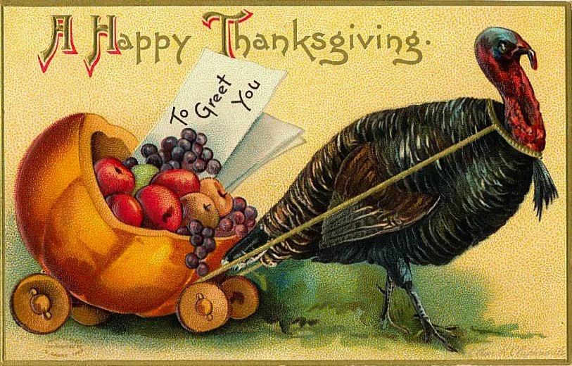 Images de thanksgiving vintage