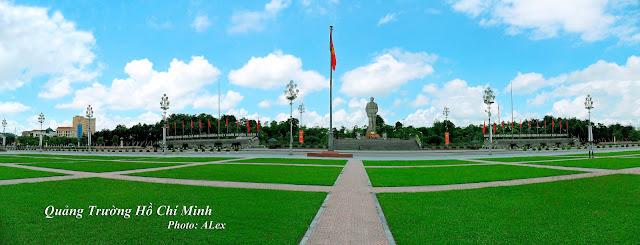 Ho Chi Minh Square - Quảng trường Hồ Chí Minh