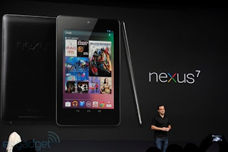 Google Luncurkan Tablet Nexus Seven