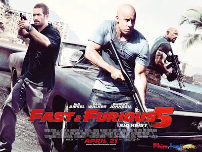 Phim Quá Nhanh Qua Nguy Hiểm 5 - Fast And Furious 5 [Vietsub] Online