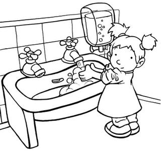 Dibujos De Ninos Lavando Frutas Imagui