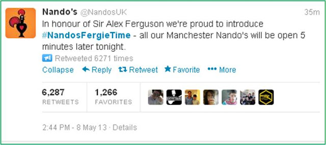 Nandos Fergie Time nandosfergietime