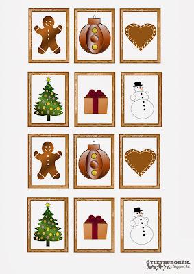 karácsonyi memóriajáték