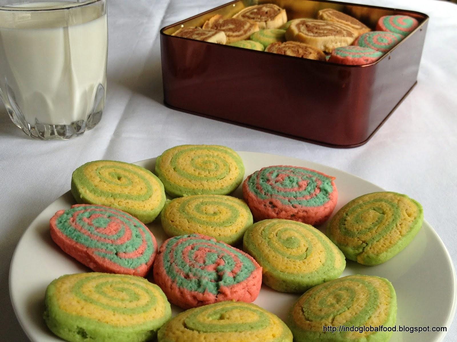 eggless pinwheel cookies