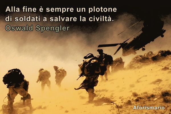 Top Aforismario®: Esercito - Aforismi, frasi e citazioni MA03