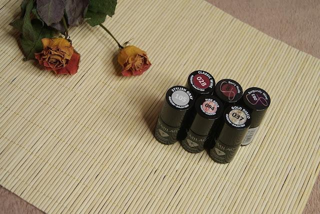 [293.] Moje ulubione, jesienno-zimowe lakiery Semilac.