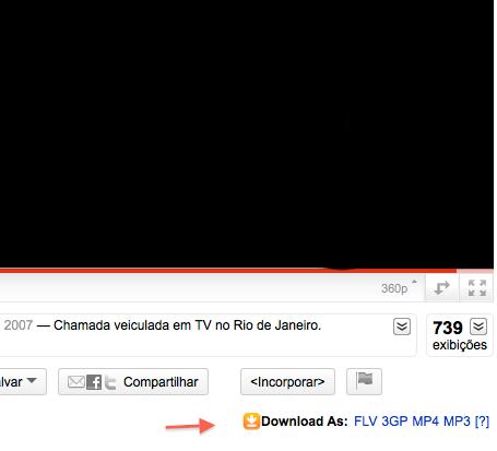 Download de vdeos do youtube com o easy video downloader chrome dicas basta acessar qualquer pgina de vdeo no youtube e clicar em um dos botes de download ccuart Choice Image