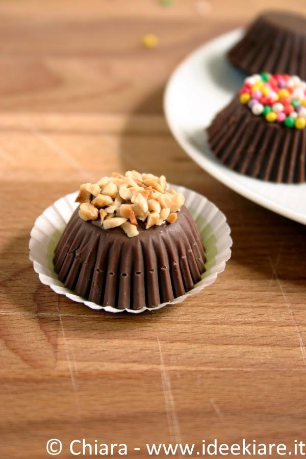 DIY cioccolatini ripieni di frutta