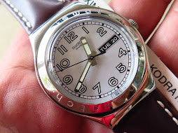 SWATCH IRONY WHITE NUMBER INDEXES