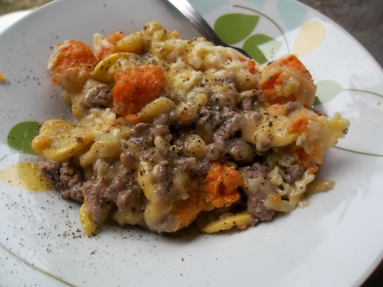 Lunches Fit For a Kid: Recipe: Cheesy Sweet Potato Tater Tot Casserole