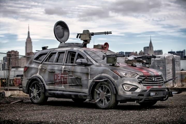 Hyundai Santafe 2013 Modifikasi Untuk Film