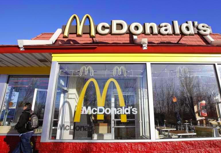 McDonald's building photo