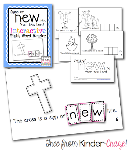FREE Emergent Reader for the Easter Season