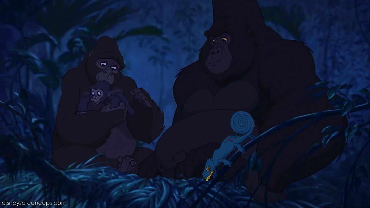 My own personal nerdy disney scrutinizing analyses tarzan a lighthearted and successful - Tarzan gorille ...
