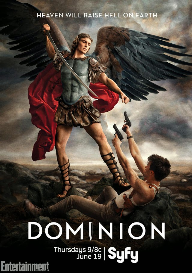 """Poster """"Dominion"""" Syfy"""
