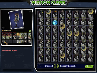Metal Assault - Mission Clear Choosing Box