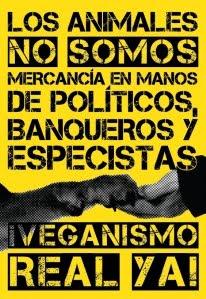 Los animales no somos mercancía